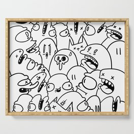 Doodle bomb Serving Tray