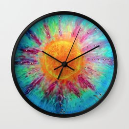 Positive Vibes  Wall Clock