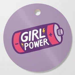 Girl Power Cutting Board
