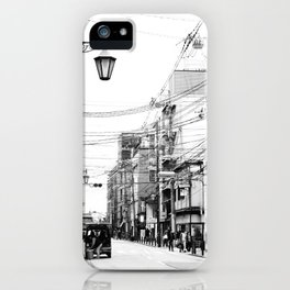 The Streets of Gion, Kyoto iPhone Case