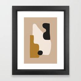 abstract minimal 16 Framed Art Print