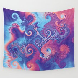 Crazy Twisters Wall Tapestry