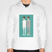 tegan and sara Hoodies featuring Tegan and Sara: Call It Off by Cas.