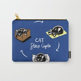 Kitty Slep Cycle Carry-All Pouch