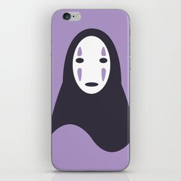 No-Face iPhone Skin
