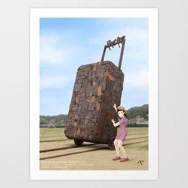 Takao Railway Museum Art Print