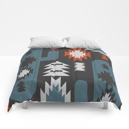 Tribal cacti Comforters