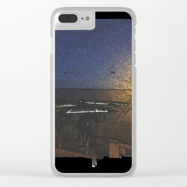 Free Vertical Composition # 467 Clear iPhone Case