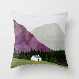 Spring and Summer Throw Pillow