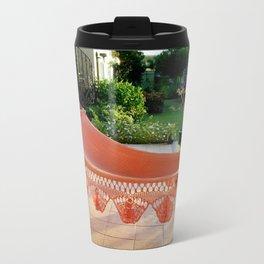 Tropical Caribbean Island Resting  Travel Mug