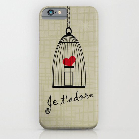Je t'adore iPhone & iPod Case