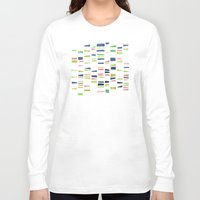 dna Long Sleeve T-shirts featuring DNA by insemar
