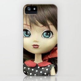 ** Milk and bread for breakfast ** iPhone Case