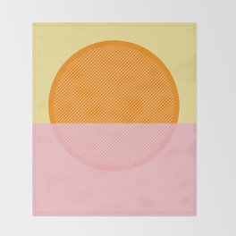 Sunrise Throw Blanket