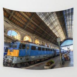 Budapest Keleti Railway Station Wall Tapestry