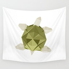 Origami Turtle Wall Tapestry