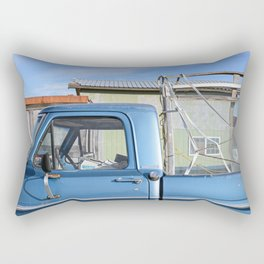 Blue Truck Rectangular Pillow