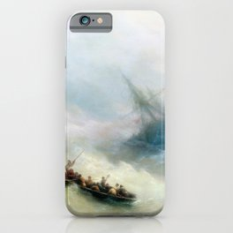 Ivan Aivazovsky - Rainbow iPhone Case