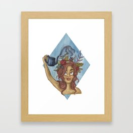 Let Your Imagination Grow Framed Art Print