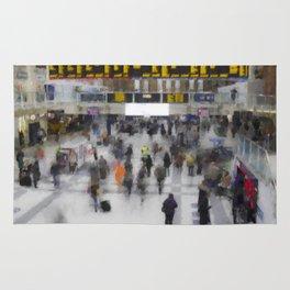 Liverpool Street Station London art Rug
