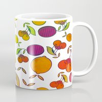 fruits Mugs featuring Fruits by VessDSign