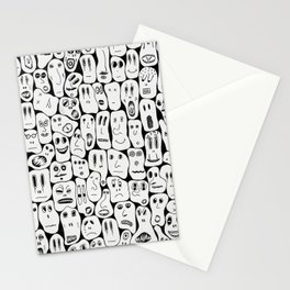 100 Faces Stationery Cards