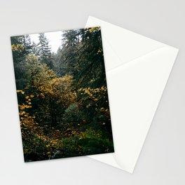 Golden Oregon Forest Stationery Cards