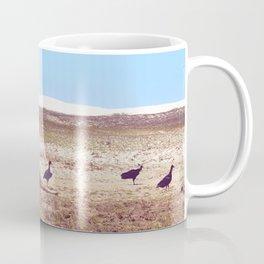 Vultures on Donkey Coffee Mug