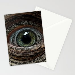Linear Eye Stationery Cards