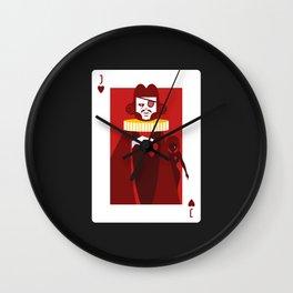 Jack of Hearts - Casanova Wall Clock