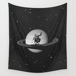 Planetary Ride Wall Tapestry