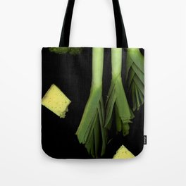 Leeks and Cheese Tote Bag