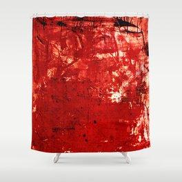 鬼 (Oni) Shower Curtain
