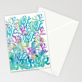 Ocean life Stationery Cards