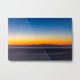 Happy Little Sunset Metal Print