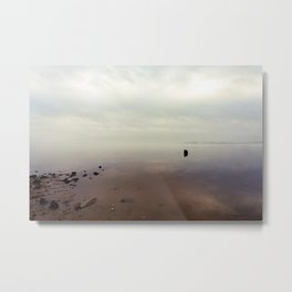 Foggy Sunrise Metal Print