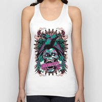 anarchy Tank Tops featuring Anarchy ravens by Tshirt-Factory