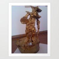 statue 2 Art Print