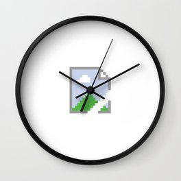 Google Chrome Broken Image Wall Clock
