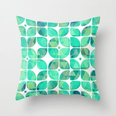 Minty Throw Pillow