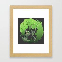 SLIME -- HELP Framed Art Print