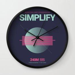 SIMPLIFY #3 Wall Clock