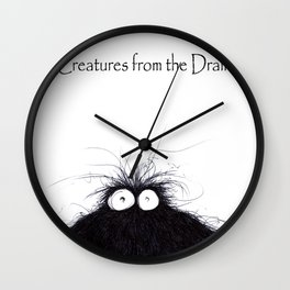The creatures from the drain 10 Wall Clock