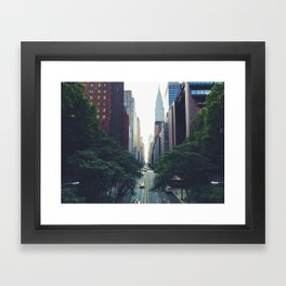 Morning in the Empire Framed Art Print
