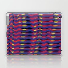 wave lines Laptop & iPad Skin