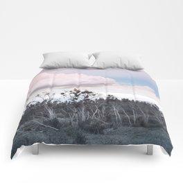 Landscape & Clouds II Comforters