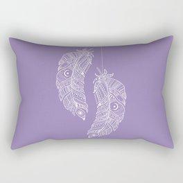Tribal Feathers Rectangular Pillow