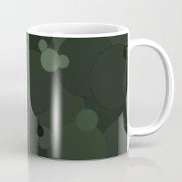 Duffel Bag Bubble Dot Color Accent Coffee Mug