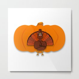 Thanksgiving Metal Print