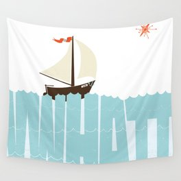 WHAT (floats my boat) Wall Tapestry